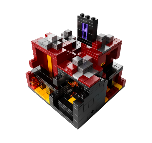 Lego Minecraft - The Nether