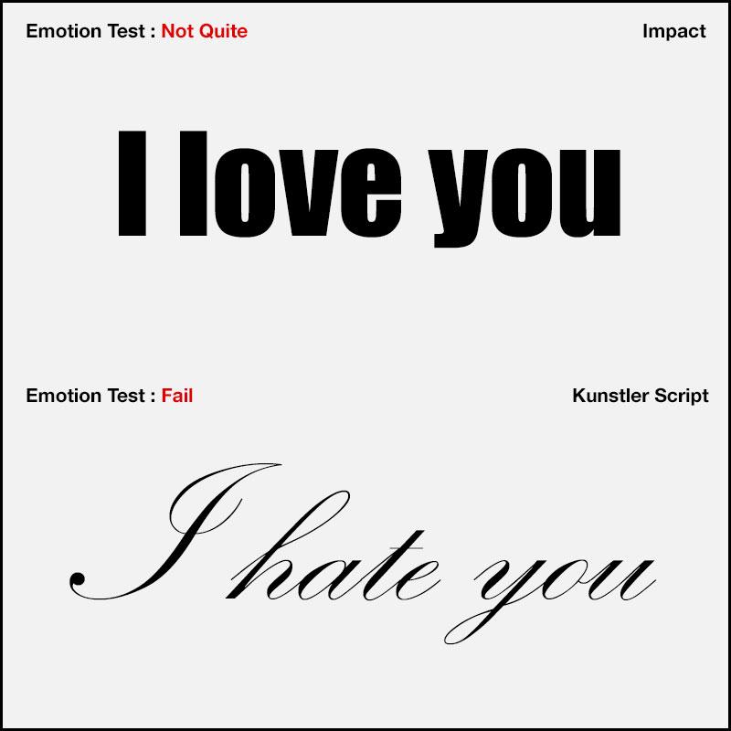 typography emotion wiliam blog