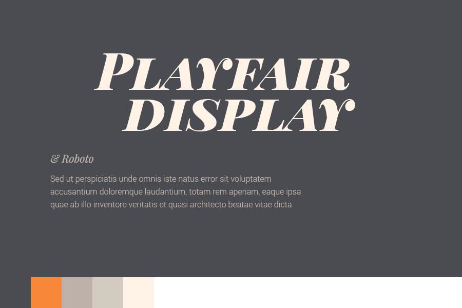 Google Font Combinations and Colour Pallets   Wiliam Blog