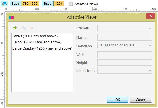 I still want to work at 960 adaptive view layout