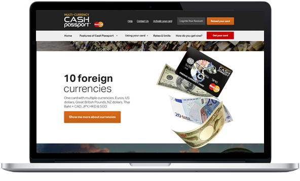 MasterCard – Cash Passport
